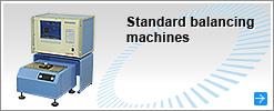 Standard balancing machines