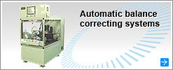 Automatic balance correcting systems